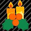 candles, christmas, holiday, new year, winter, xmas