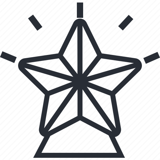 Star, christmas, holiday, santa, winter, xmas icon - Download on Iconfinder