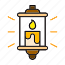 candle, candlestick, christmas, flame, light icon