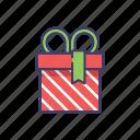 birthday, box, gift, gift box, present icon