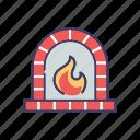 blaze, burn, fire, flame, hot icon