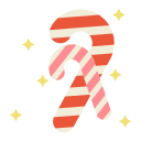 candy, cane, snack, sweet icon
