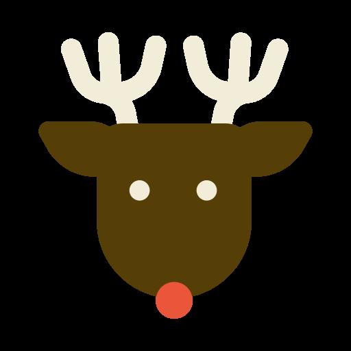 animal, christmas, deer, festival, holiday, rein icon