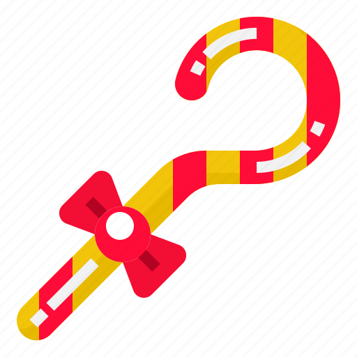 Candy, cane, red, sugar, sweet icon - Download on Iconfinder