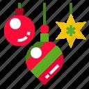 decoration, giftbox, ornaments, presents, xmas icon