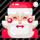 christmas, claus, merry, santa, xmas