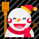 christmas, snow, snowman, xmas icon