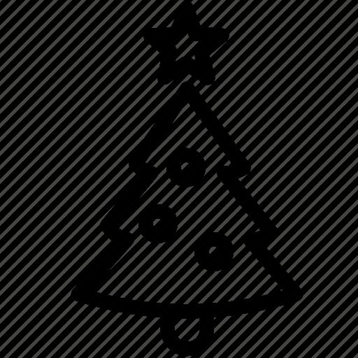 Christmas, tree, decoration, santa, snow, xmas icon - Download on Iconfinder