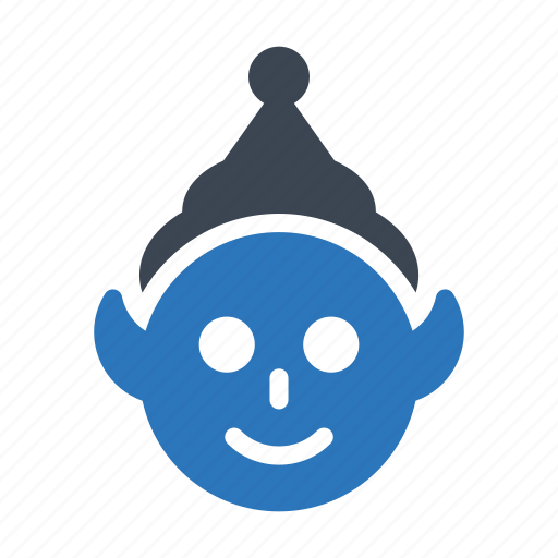 Christmas, clown, jester, joker, party icon - Download on Iconfinder
