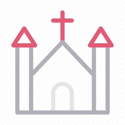 Building, catholic, christian, church, religious icon - Download on Iconfinder