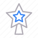 celebration, christmas, decoration, party, star icon