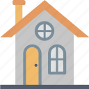 hut, small, ginger, home, house, shack icon