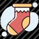 christmas, sock, stocking