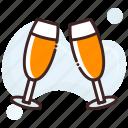 beer, cheers, party
