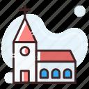 building, chapel, church icon