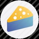 cake, christmas, pastry, piece icon