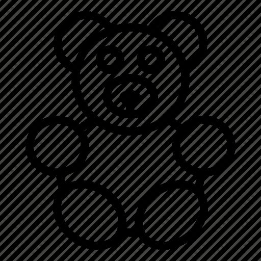 animal, bear, chistmas, christmas, gift, teddy, toy icon