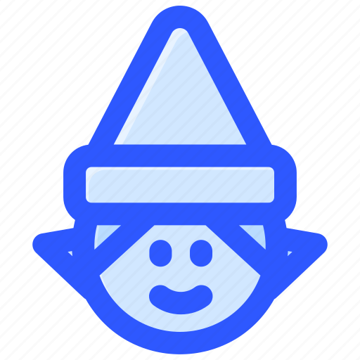 Christmas, dwarf, elf, fairy, santa icon - Download on Iconfinder