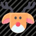 christmas, claus, deer, reindeer, santa, winter