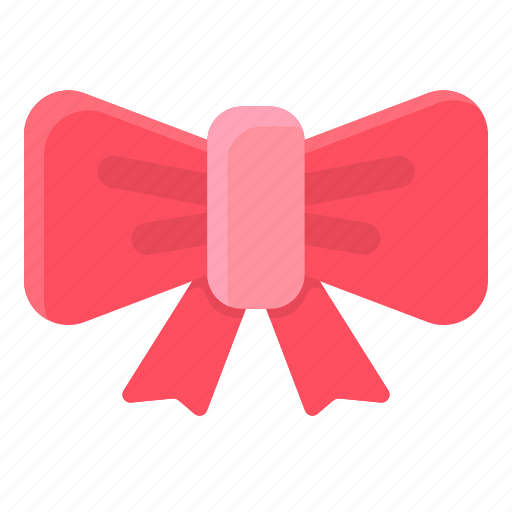 bow, clothes, gift, ribbon, tie icon