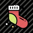 christmas, decoration, sock, xmas