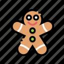bread, cake, christmas, ginger