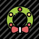 christmas, decoration, ribbon, xmas