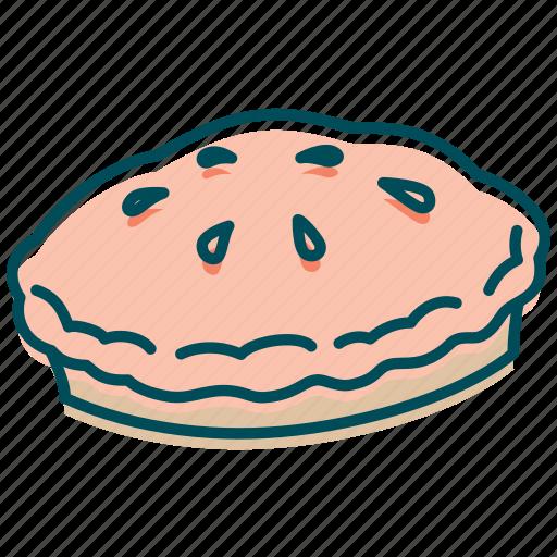 american pie, apple pie, bakery, cake, celebration, pie icon