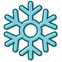 flake, flakes, snow, snowflake, snowflakes, winter icon