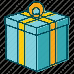 bday, birthday, box, celebration, christmas, gift, new year icon