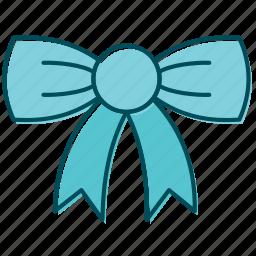 bow, celebration, christmas decoration, decoration, ribbon, xmas icon
