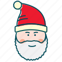 christmas, gifts, happy, new year, santa, santa claus icon