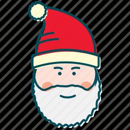 christmas, gifts, happy, new year, santa, santa claus icon