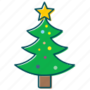 christmas, christmas decoration, christmas tree, clebration, decoration, new year icon