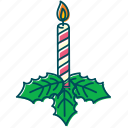 candle, christmas, christmas decoration, decoration, flame, xmas icon