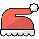 cap, costume, fashion, santa, santa claus, hat, christmas hat icon