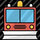 snowplow, transport, vehicle, digger, automobile, plowing, excavator