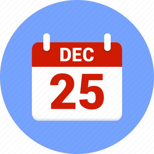 calendar, christmas, december, newyear, xmas icon