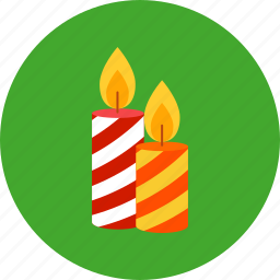 candle, christmas, fire, light, newyear, xmas icon