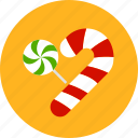 candy, cane, christmas, newyear, sweet, xmas icon