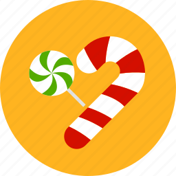 candy, cane, christmas, newyear, sweet, xmas icon
