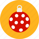 ball, christmas, decoration, newyear, noel, xmas icon