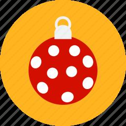 ball, christmas, decoration, newyear, noel, xmas icon