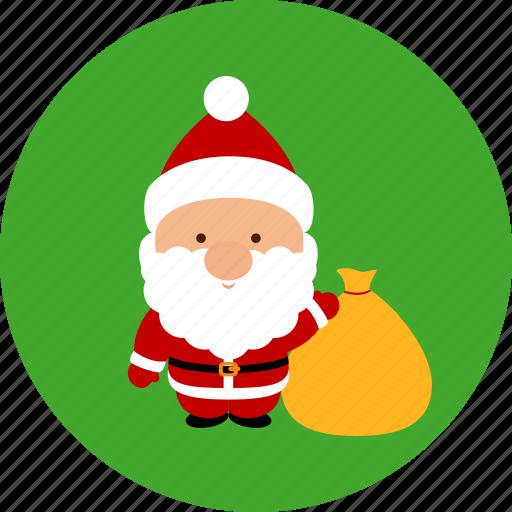 christmas, funny, newyear, santa, santaclaus, xmas icon