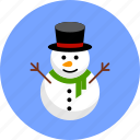 christmas, cute, funny, newyear, snow, snowman, xmas icon