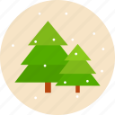 christmas, newyear, noel, pine, snow, tree, xmas icon