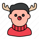 avatar, rudolph, rudolph costume, christmas icon