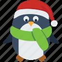 decoration, christmas, animals, penguin