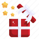 gift box, surprise, birthday, christmas, present icon