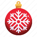 bauble, bulb, christmas, ornament, decoration, xmas icon